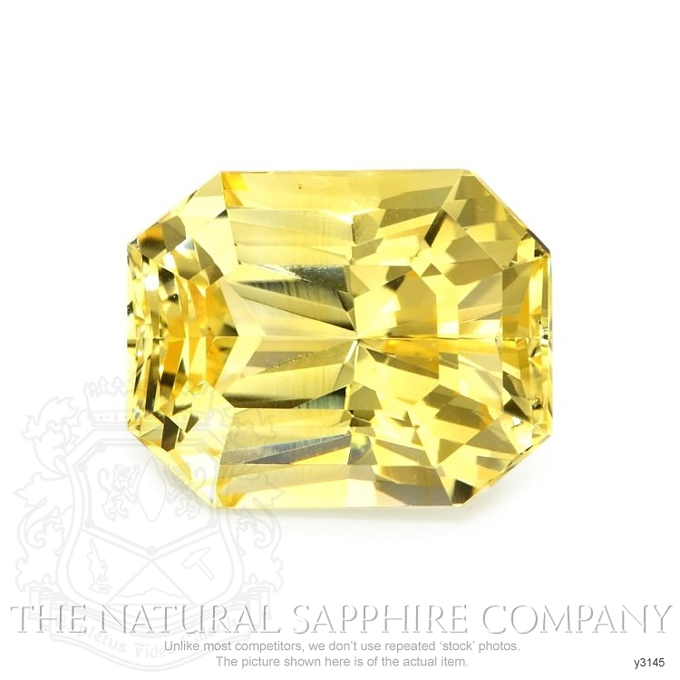 Natural Untreated Yellow Sapphire Y3145 Image
