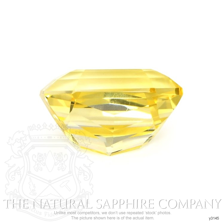 Natural Untreated Yellow Sapphire Y3145 Image 2