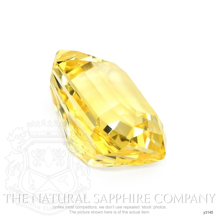 Natural Untreated Yellow Sapphire Y3145 Image 3