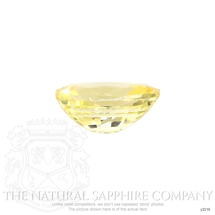 Natural Untreated Yellow Sapphire Y3216 Image 2