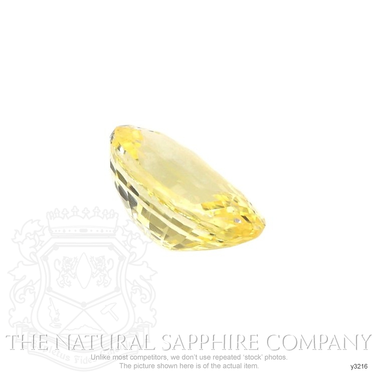 Natural Untreated Yellow Sapphire Y3216 Image 3