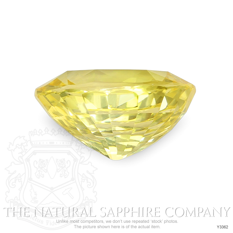 Natural Untreated Yellow Sapphire Y3362 Image 2