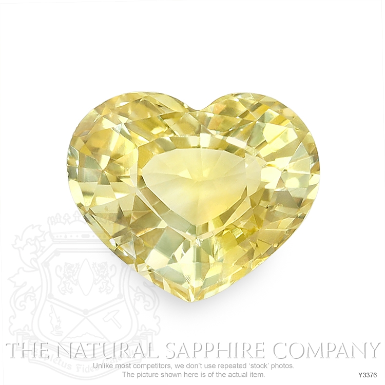 Natural Untreated Yellow Sapphire Y3376 Image