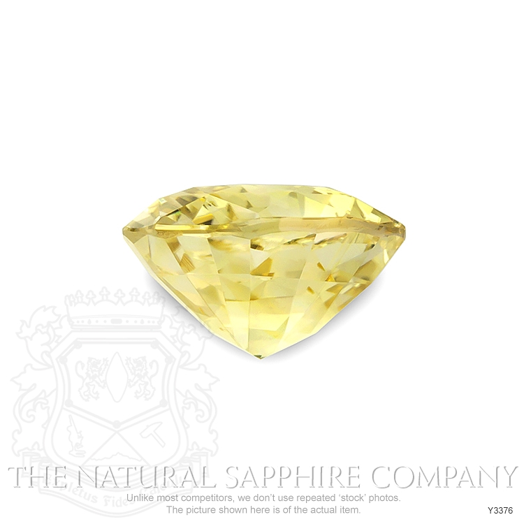 Natural Untreated Yellow Sapphire Y3376 Image 2