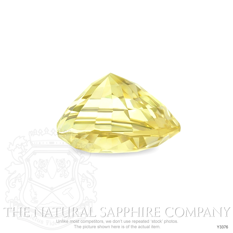 Natural Untreated Yellow Sapphire Y3376 Image 3