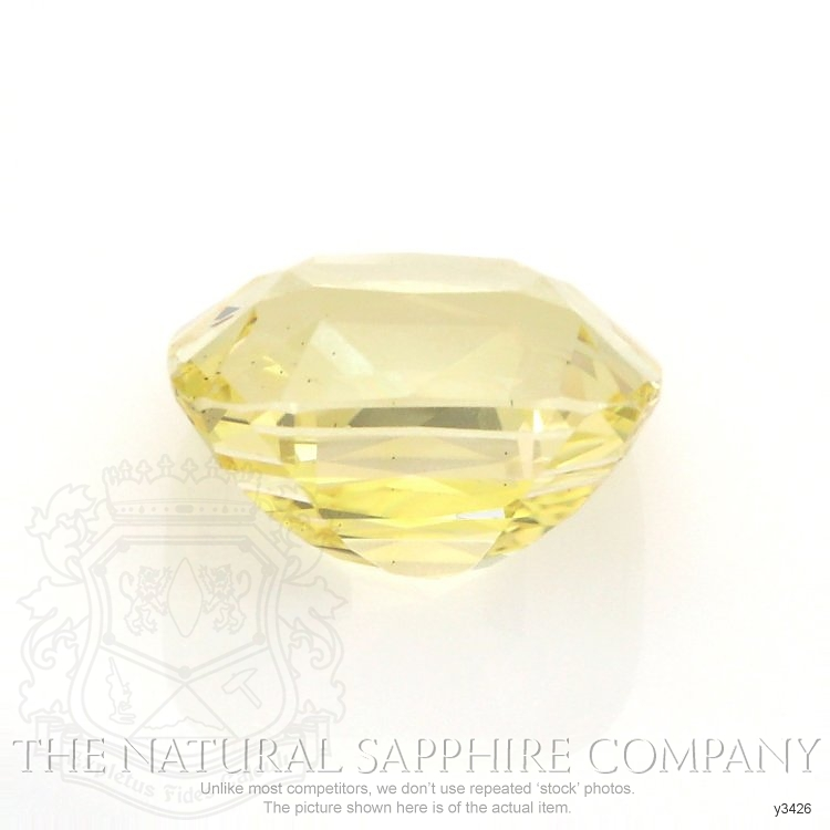 Natural Untreated Yellow Sapphire Y3426 Image 2