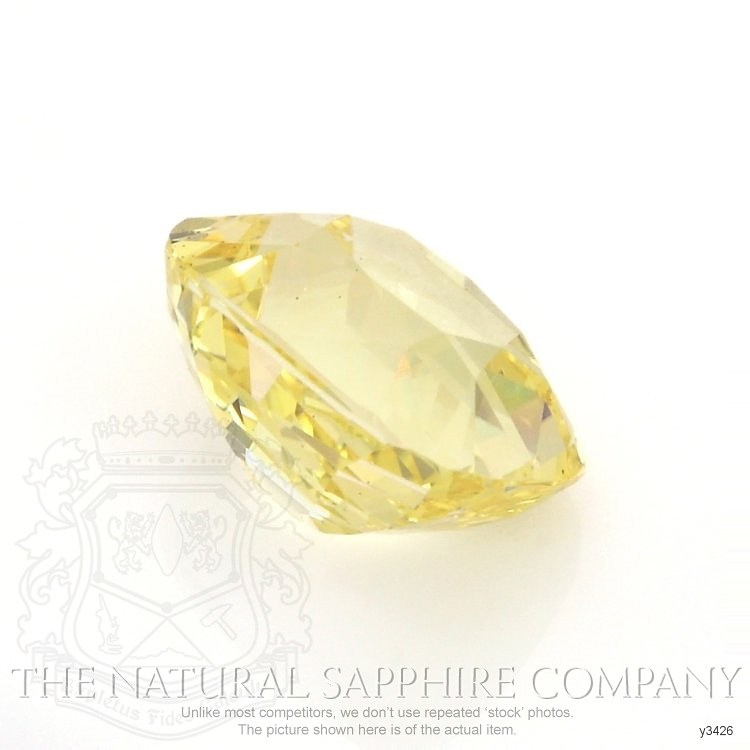 Natural Untreated Yellow Sapphire Y3426 Image 3