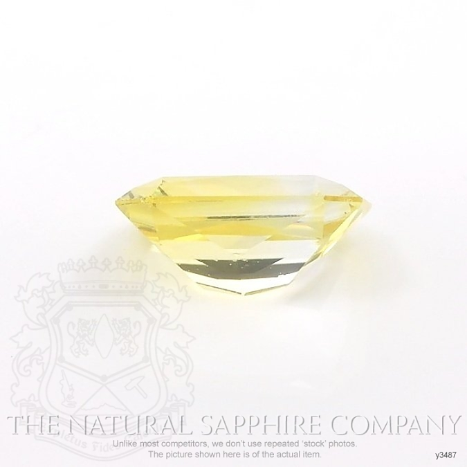 Natural Yellow Sapphire Y3487 Image 2