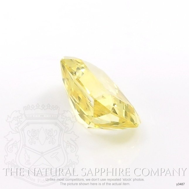Natural Yellow Sapphire Y3487 Image 3
