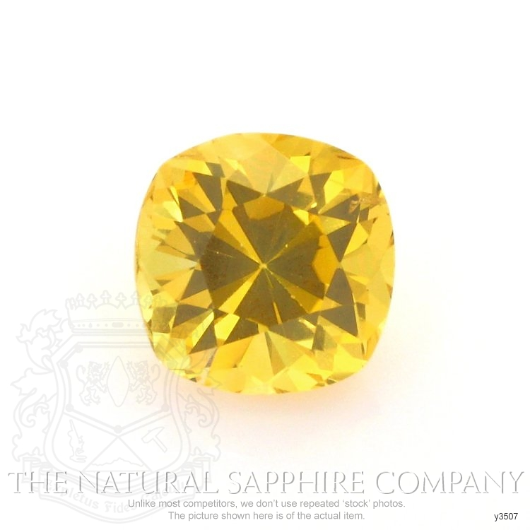 Natural Yellow Sapphire Y3507 Image