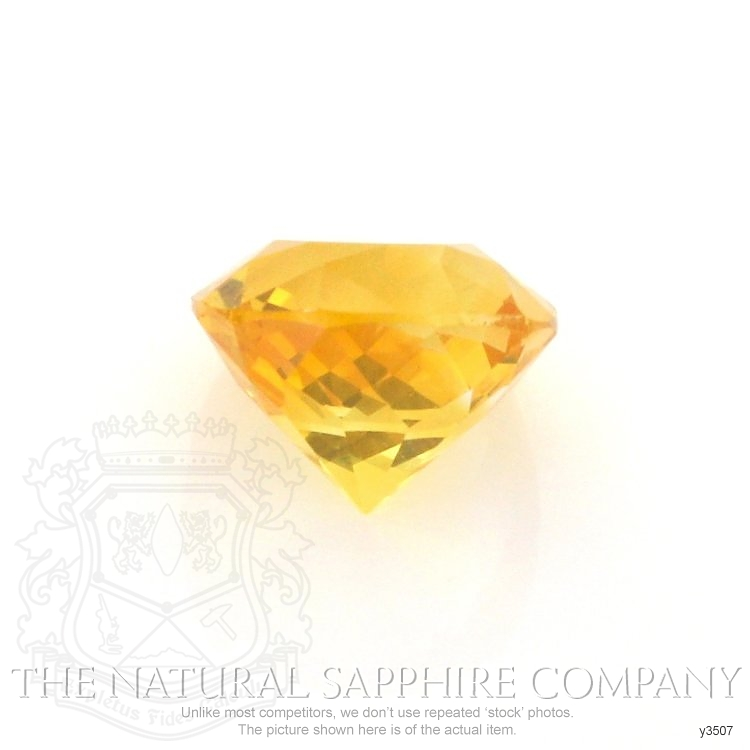 Natural Yellow Sapphire Y3507 Image 2