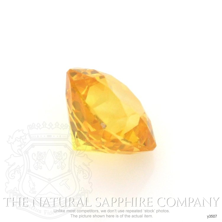 Natural Yellow Sapphire Y3507 Image 3