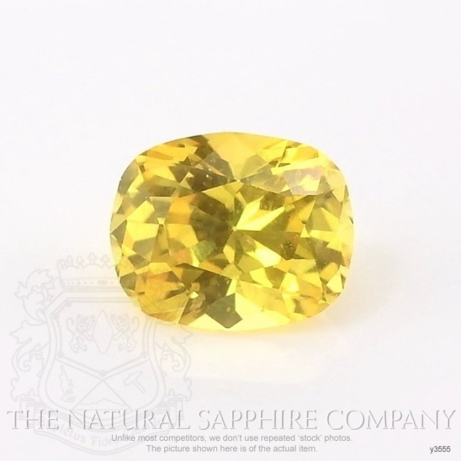 Natural Yellow Sapphire Y3555 Image