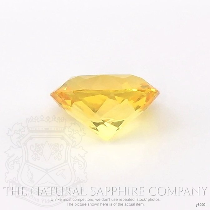 Natural Yellow Sapphire Y3555 Image 2