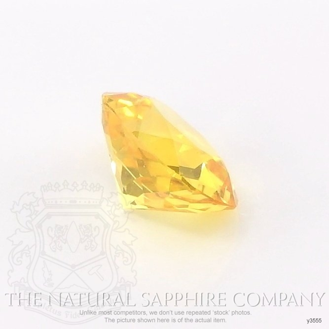 Natural Yellow Sapphire Y3555 Image 3