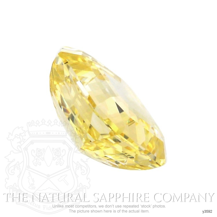 Natural Untreated Yellow Sapphire Y3592 Image 3
