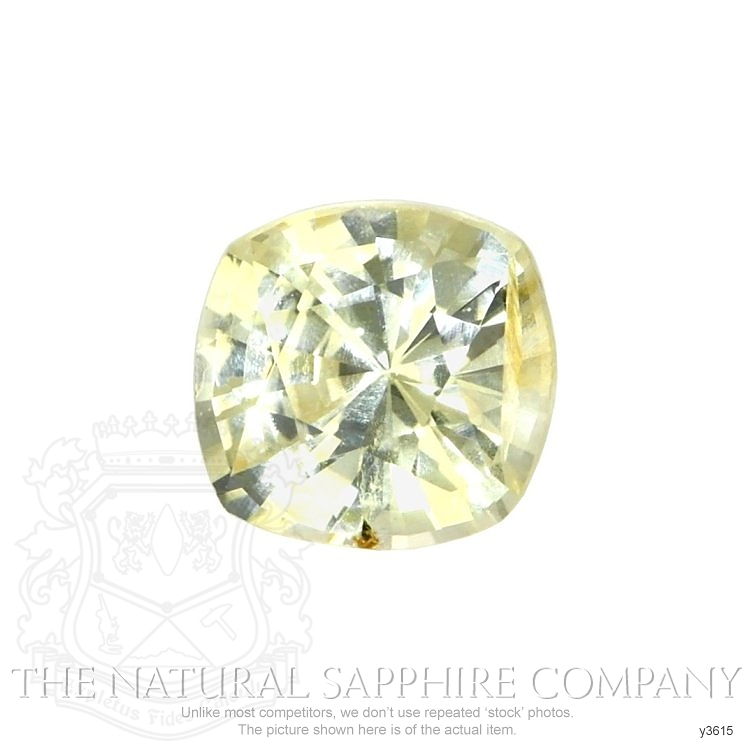 Natural Untreated Yellow Sapphire Y3615 Image