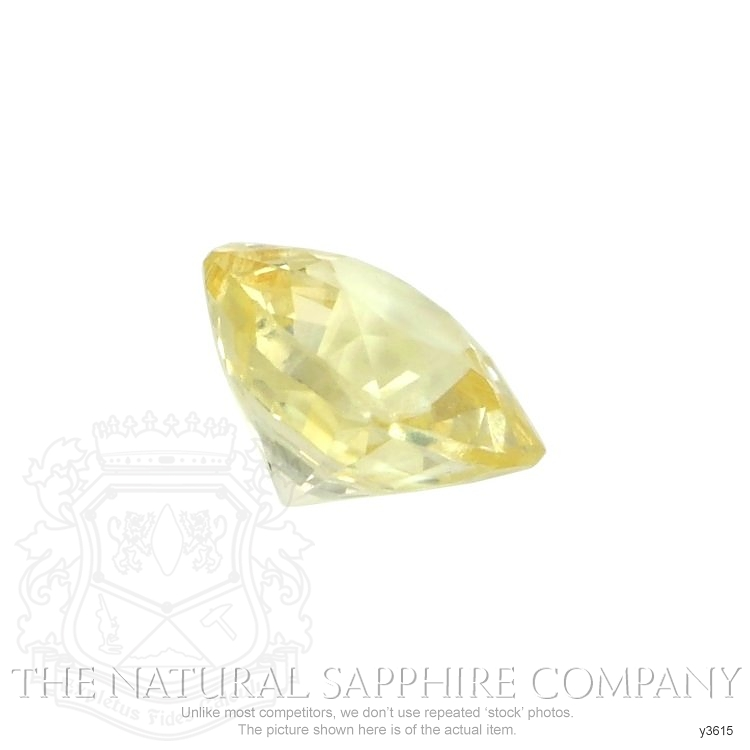 Natural Untreated Yellow Sapphire Y3615 Image 3