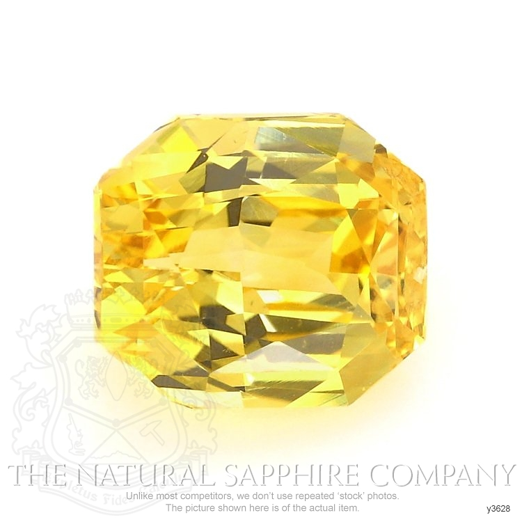 Natural Untreated Yellow Sapphire Y3628 Image