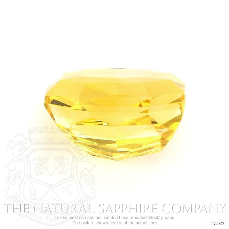 Natural Untreated Yellow Sapphire Y3628 Image 2