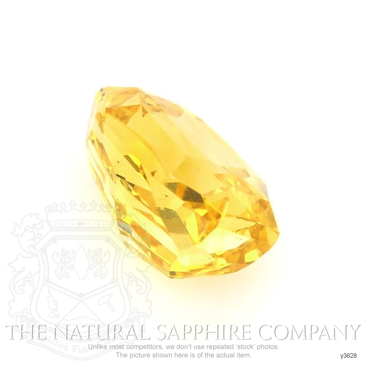 Natural Untreated Yellow Sapphire Y3628 Image 3