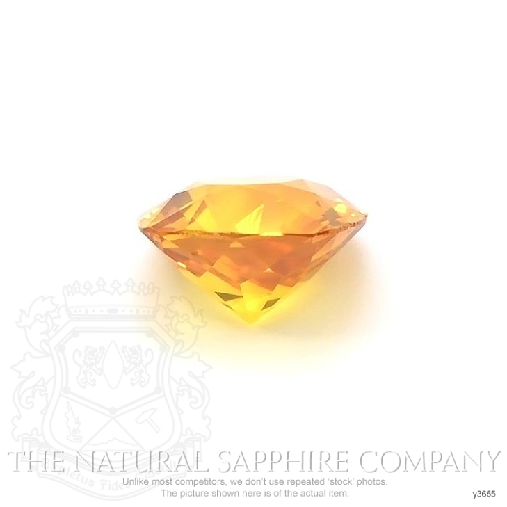 Natural Yellowish Brown Sapphire Y3655 Image 2