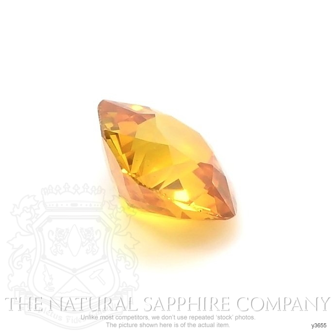 Natural Yellowish Brown Sapphire Y3655 Image 3