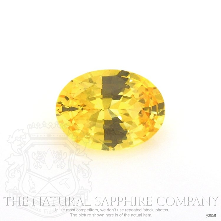 Natural Yellow Sapphire Y3658 Image