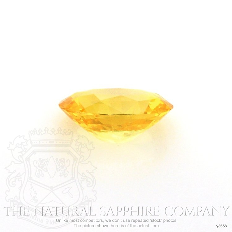 Natural Yellow Sapphire Y3658 Image 2