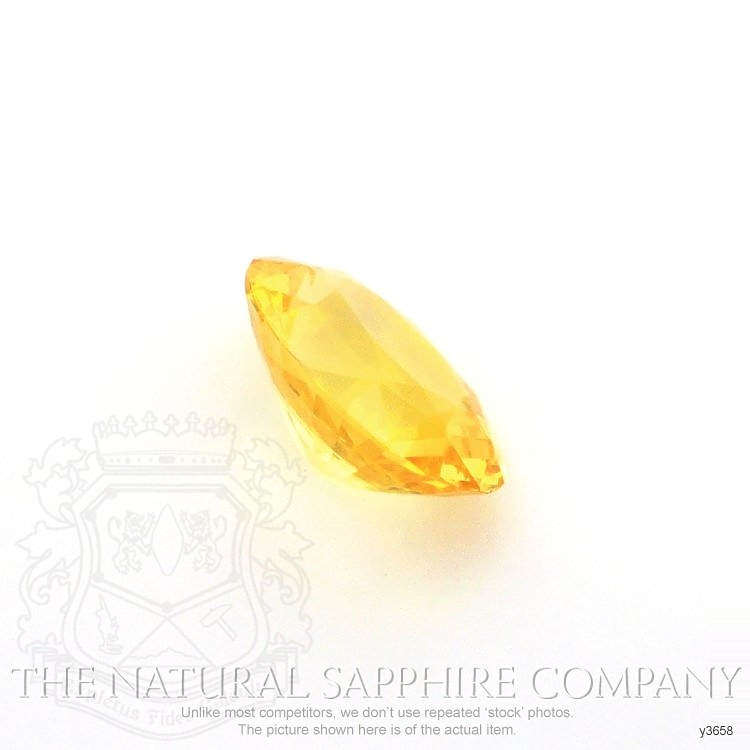 Natural Yellow Sapphire Y3658 Image 3