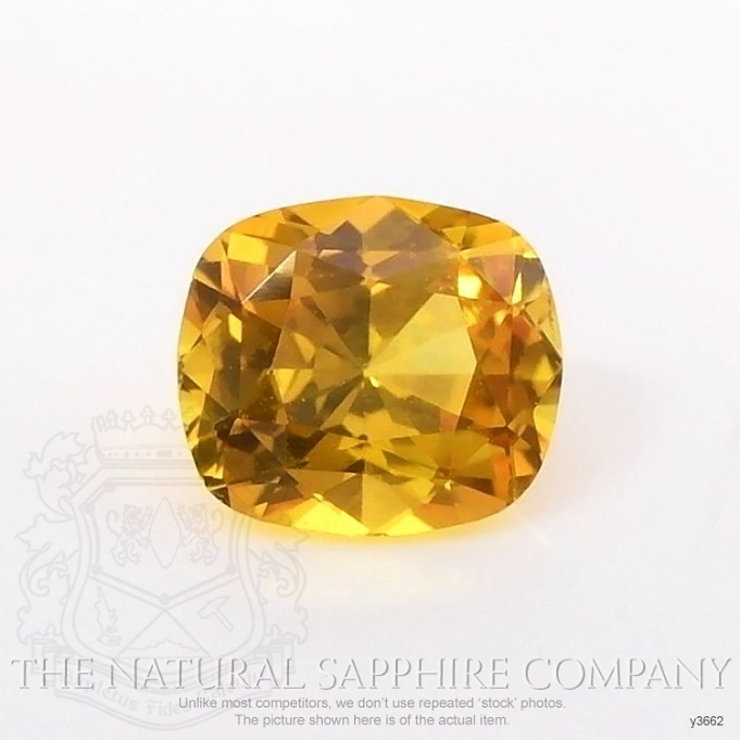 Natural Yellowish Brown Sapphire Y3662 Image