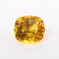 0.70ct Ceylon Cushion Yellowish Brown Sapphire - Y3662