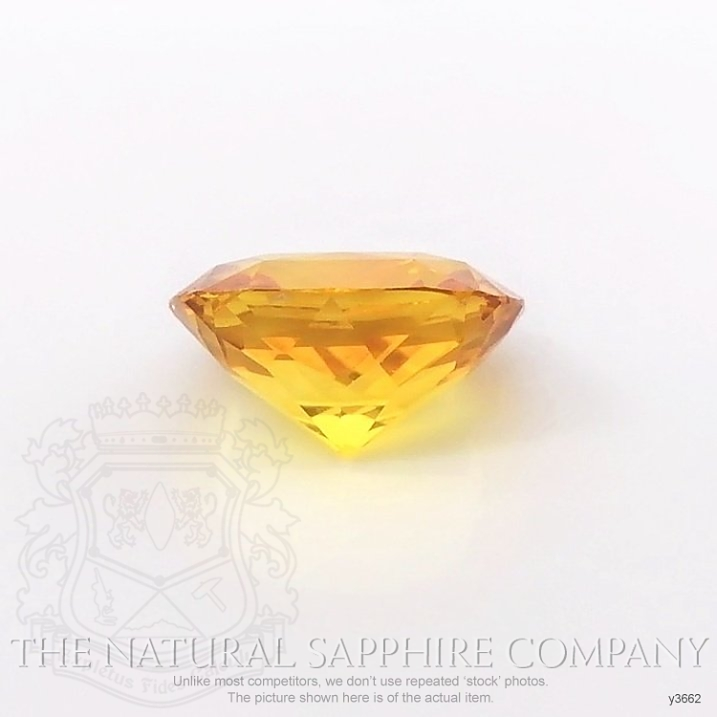 Natural Yellowish Brown Sapphire Y3662 Image 2