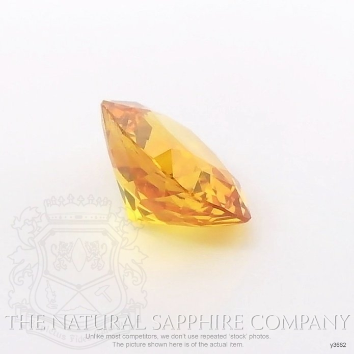 Natural Yellowish Brown Sapphire Y3662 Image 3