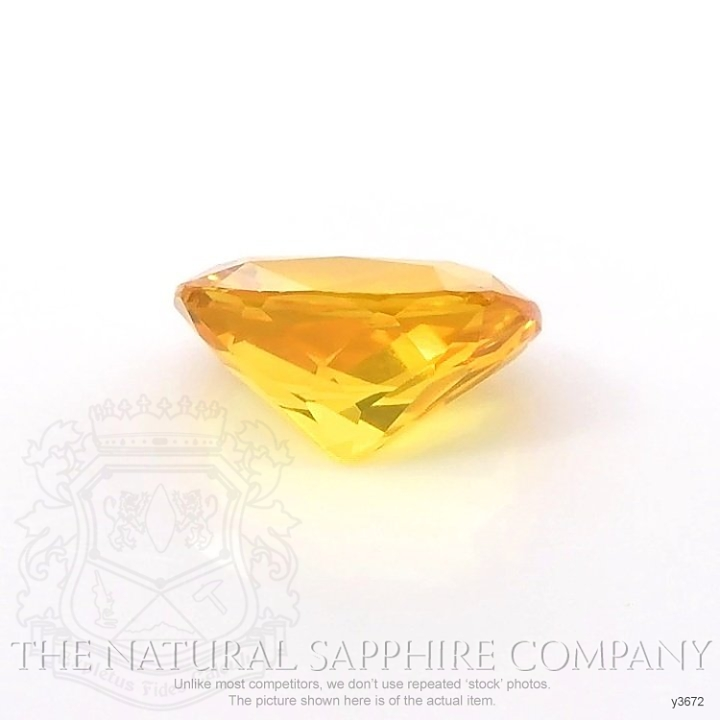 Natural Yellowish Brown Sapphire Y3672 Image 2