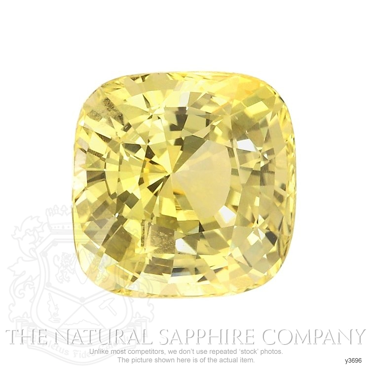 Natural Untreated Yellow Sapphire Y3696 Image