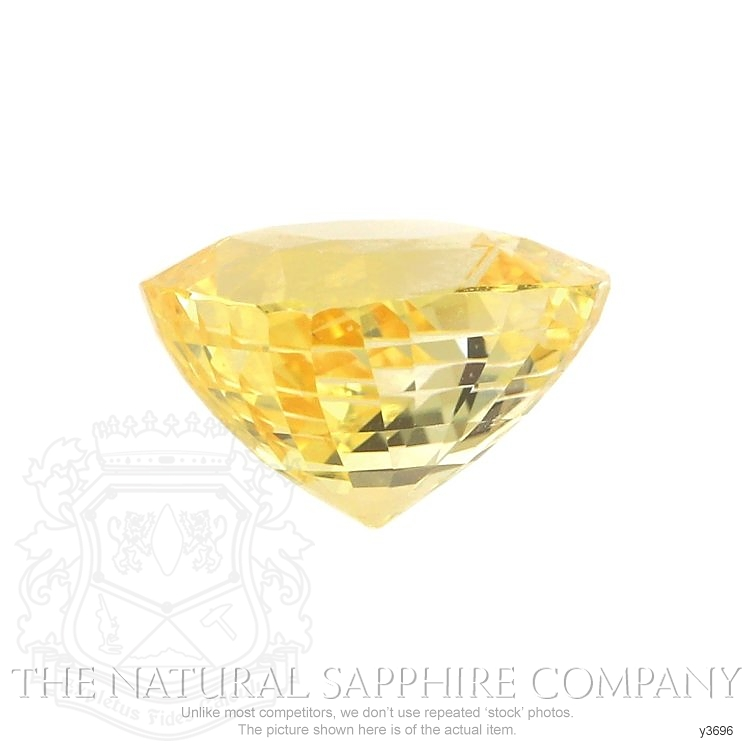 Natural Untreated Yellow Sapphire Y3696 Image 2