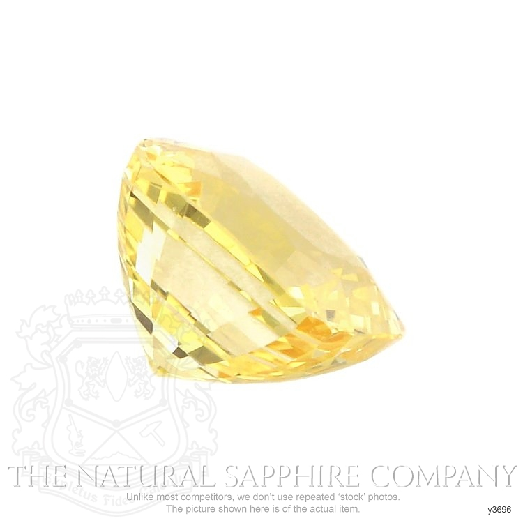 Natural Untreated Yellow Sapphire Y3696 Image 3