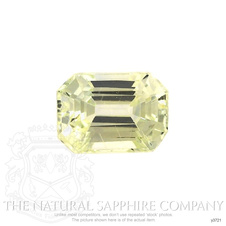 Natural Untreated Yellow Sapphire Y3721 Image