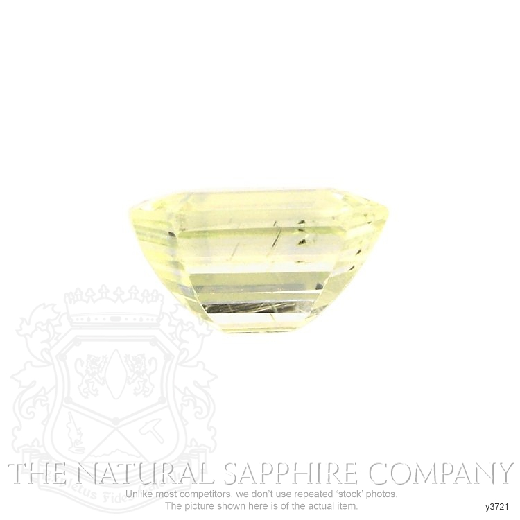 Natural Untreated Yellow Sapphire Y3721 Image 2