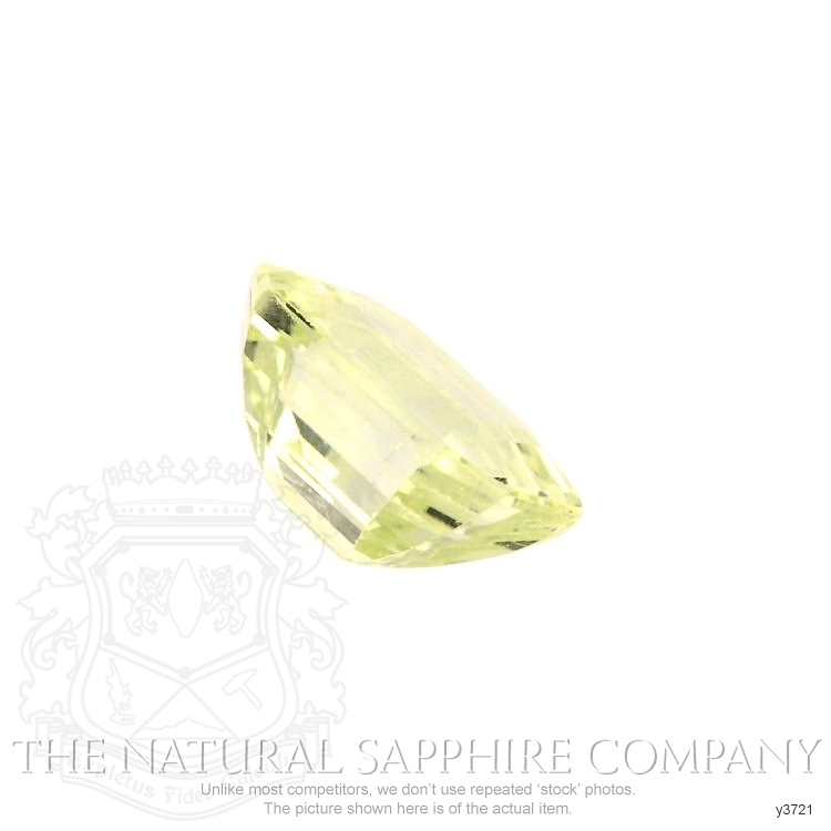 Natural Untreated Yellow Sapphire Y3721 Image 3