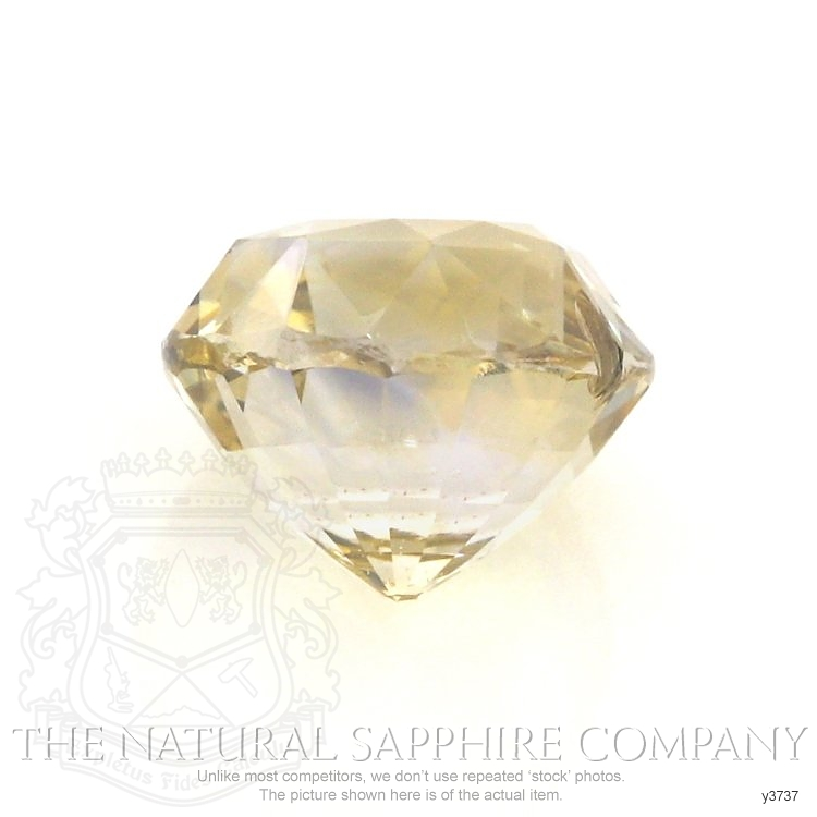 Natural Untreated Yellow Sapphire Y3737 Image 2