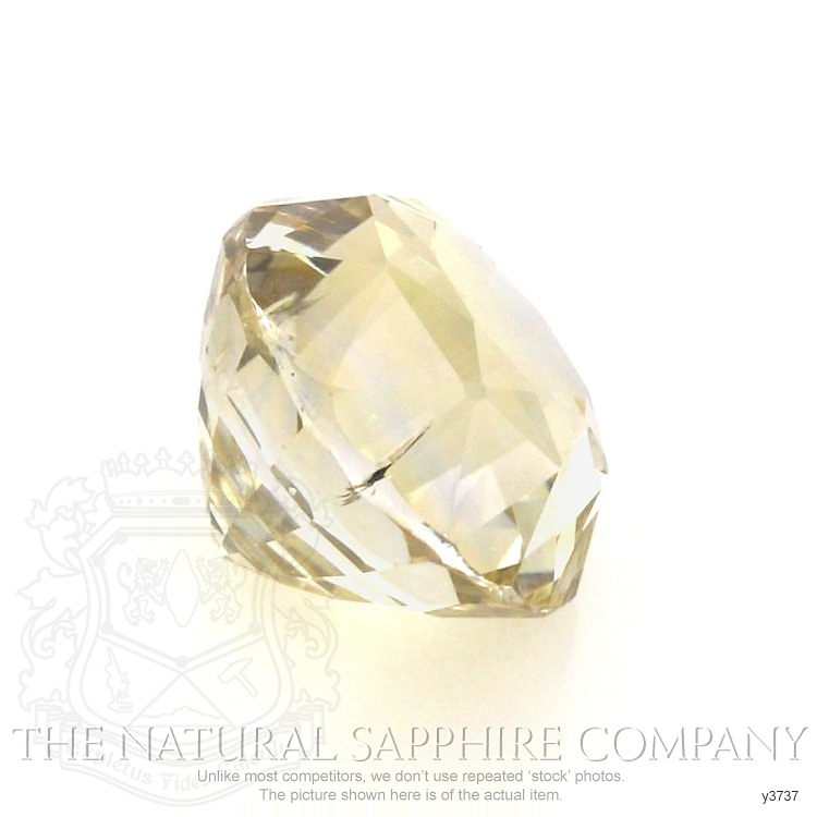 Natural Untreated Yellow Sapphire Y3737 Image 3