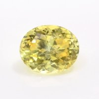 0.96ct Montana Oval Yellow Sapphire - Y4351