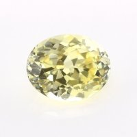 0.89ct Montana Oval Yellow Sapphire - Y4377