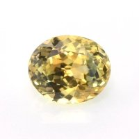0.75ct Montana Oval Yellow Sapphire - Y4401
