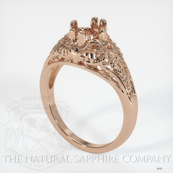 Antique Style Solitaire Ring Setting JS10 Image