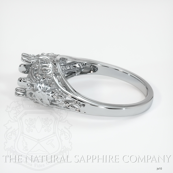 Antique Style Solitaire Ring Setting JS10 Image 3