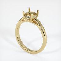 14K Yellow Gold Pave Diamond Ring Setting - JS1006Y14