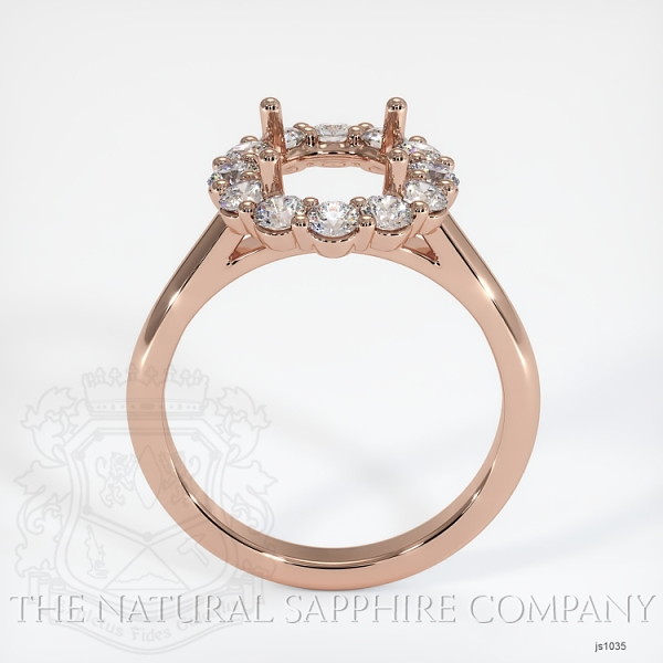 4 Prong Diamond Cluster Ring JS1035 Image 4